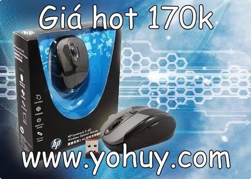 Chuột game không dây HP Laverock 2.4G