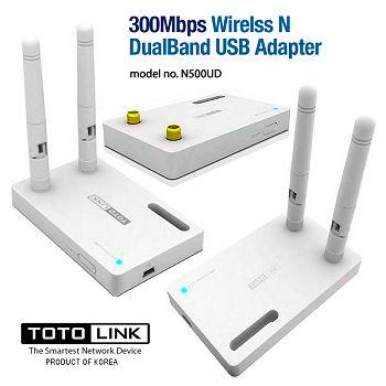 TOTO-LINK-N500UD-nabg-300M-WIRELESS-N-DUALBAND-USB