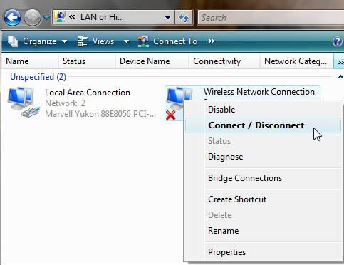 Connect Disconnect wifi yohuycom
