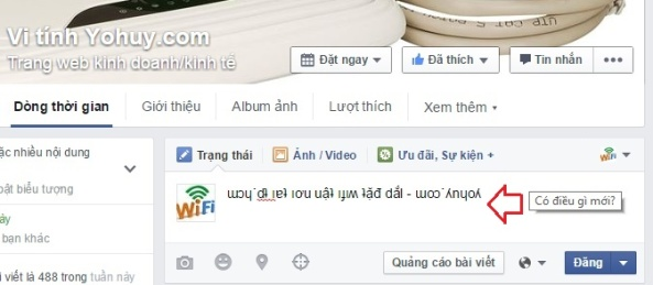 viet chu nguoc tren facebook 1