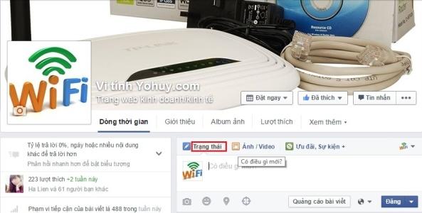 viet chu nguoc tren facebook