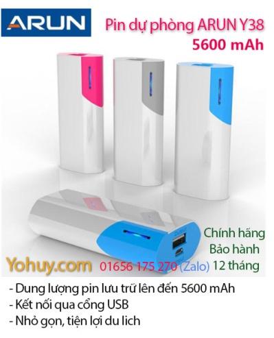 Pin dự phòng Arun 5600