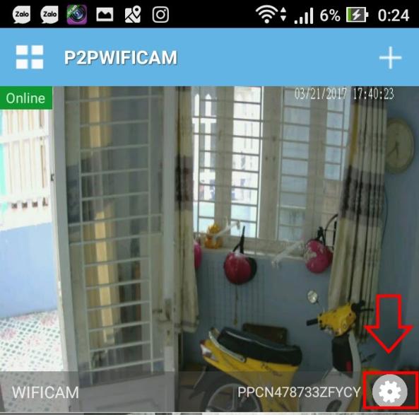 cai dat camera wifi 7
