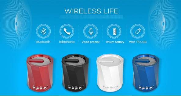 2 Loa Bluetooth, thẻ nhớ WS-Y89B –new hot