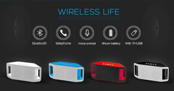 Loa Bluetooth, thẻ nhớ WS-Y66B