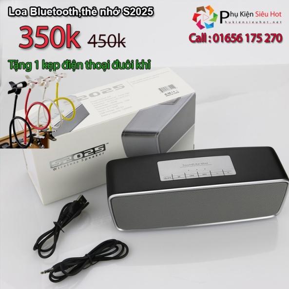 Loa Bluetooth S2025 -km