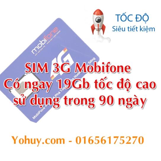 sim 3g mobifone 19gb